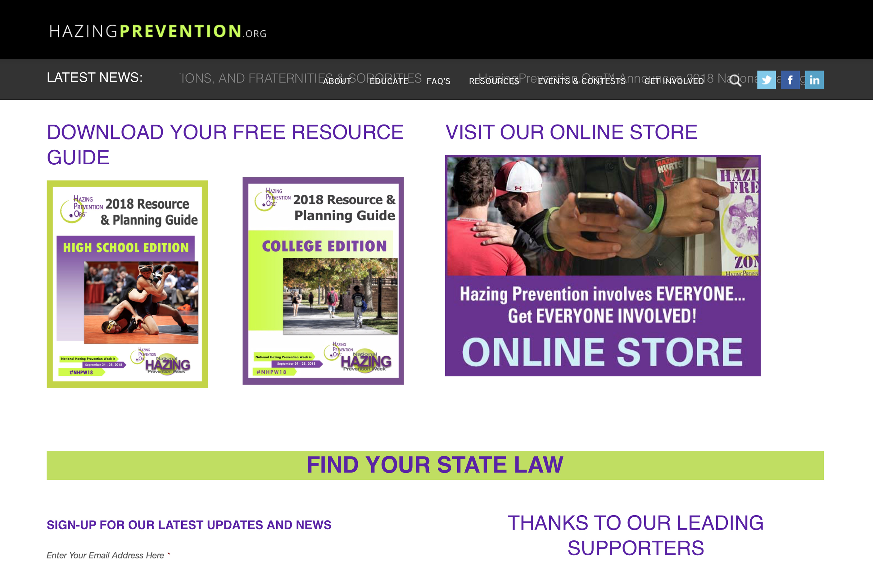 HazingPrevention.org