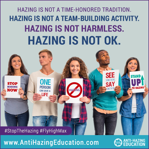Hazing is not ok