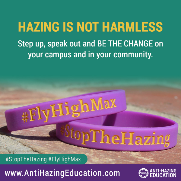 Hazing is not harmless
