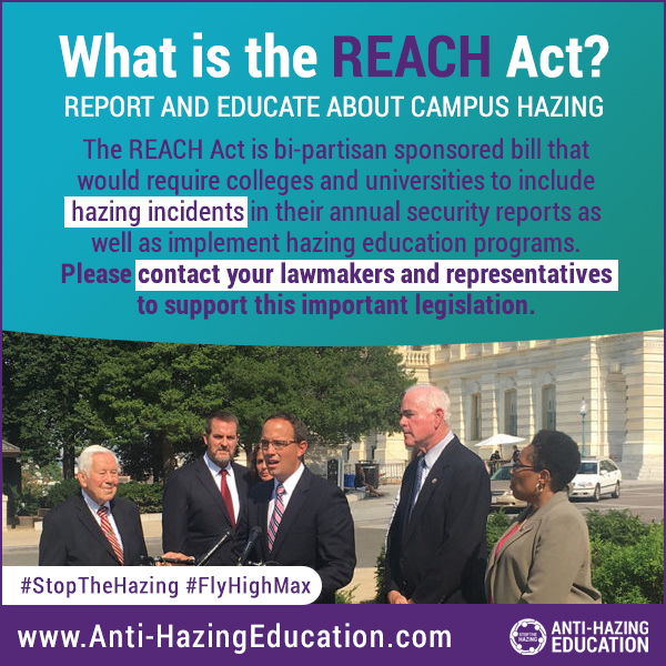 REACH Act (Anti-Hazing Legislation)